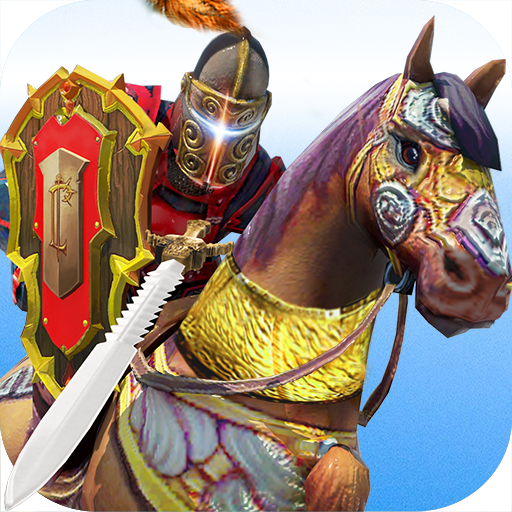 Jousting Knights: Horse Race