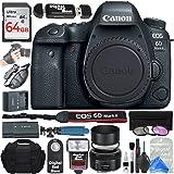 Canon EOS 6D Mark II Digital SLR Camera Body (Wi-Fi Enabled) + ULTIMATE PRO Bundle