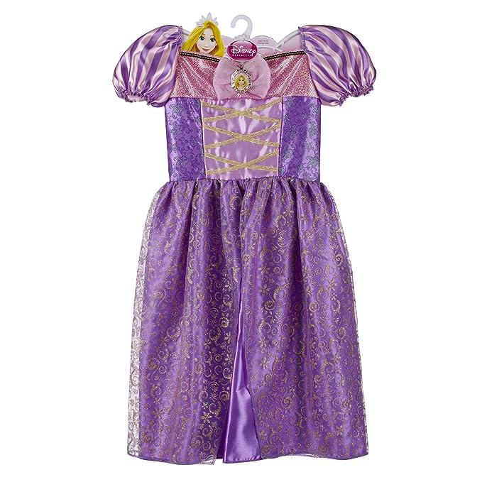 Amazon.com: Disney Princess Sparkle Dress - Rapunzel 4-6X: Clothing