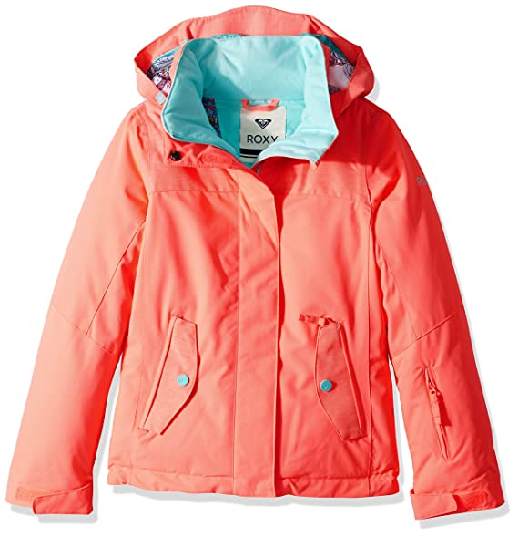 Amazon.com: Roxy Big Girls Jetty sólido chamarra de nieve ...