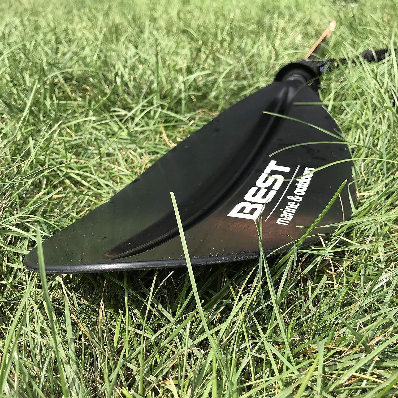 Carbon Fiber Shaft 234cm Fishing /& Kayaking Oars Lightweight Paddle Leash Included Adjustable Touring Paddles for Kayaks Best Kayak Paddle Accessories Reinforced Fiberglass Blades 33.5oz