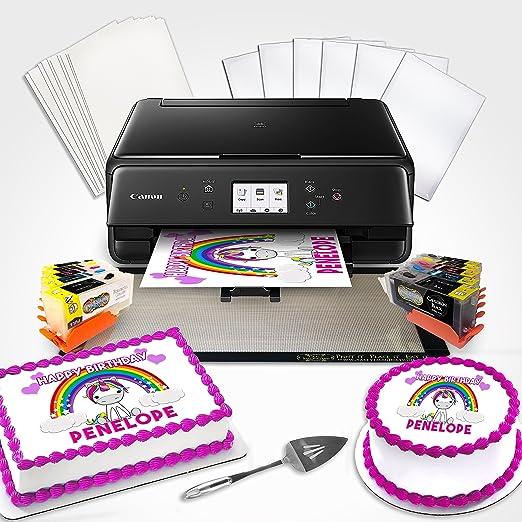 Comestible impresora Bundle BK con cartuchos de limpieza, paleta ...