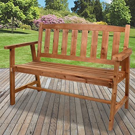 Excellent Marko Outdoor 2 3 Seater Wooden Bench Outdoor Garden Patio Ocoug Best Dining Table And Chair Ideas Images Ocougorg
