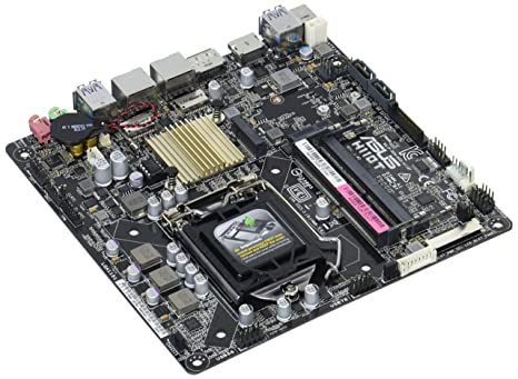 ASUS H110T/CSM LGA1151 DDR4 DP HDMI LVDS M 2 SATA 6Gb/s USB 3 0 H110 Thin  Mini-ITX CSM Motherboard