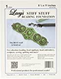 Lacy's Stiff Stuff Beading Foundation for Cabochons 11 X 8.5 Inches