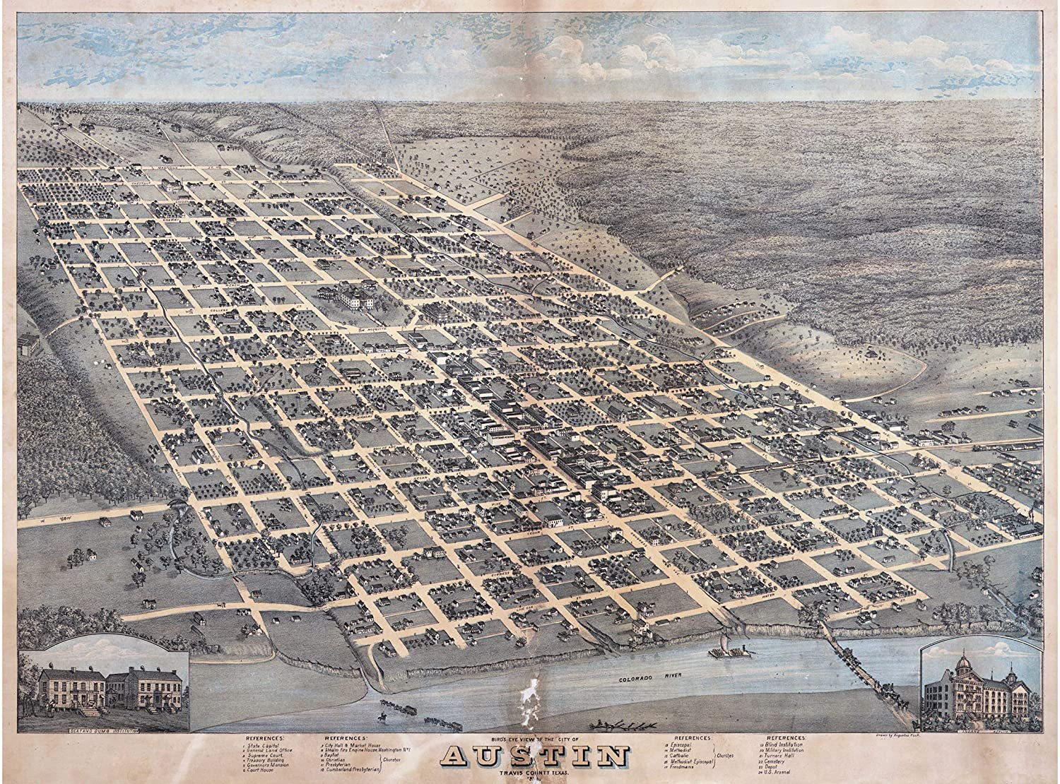 COLORADO VINTAGE PANORAMIC MAPS COLLECTION ON CD