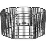 IRIS Exercise Panel Pet Playpen with Door - 34 Inch