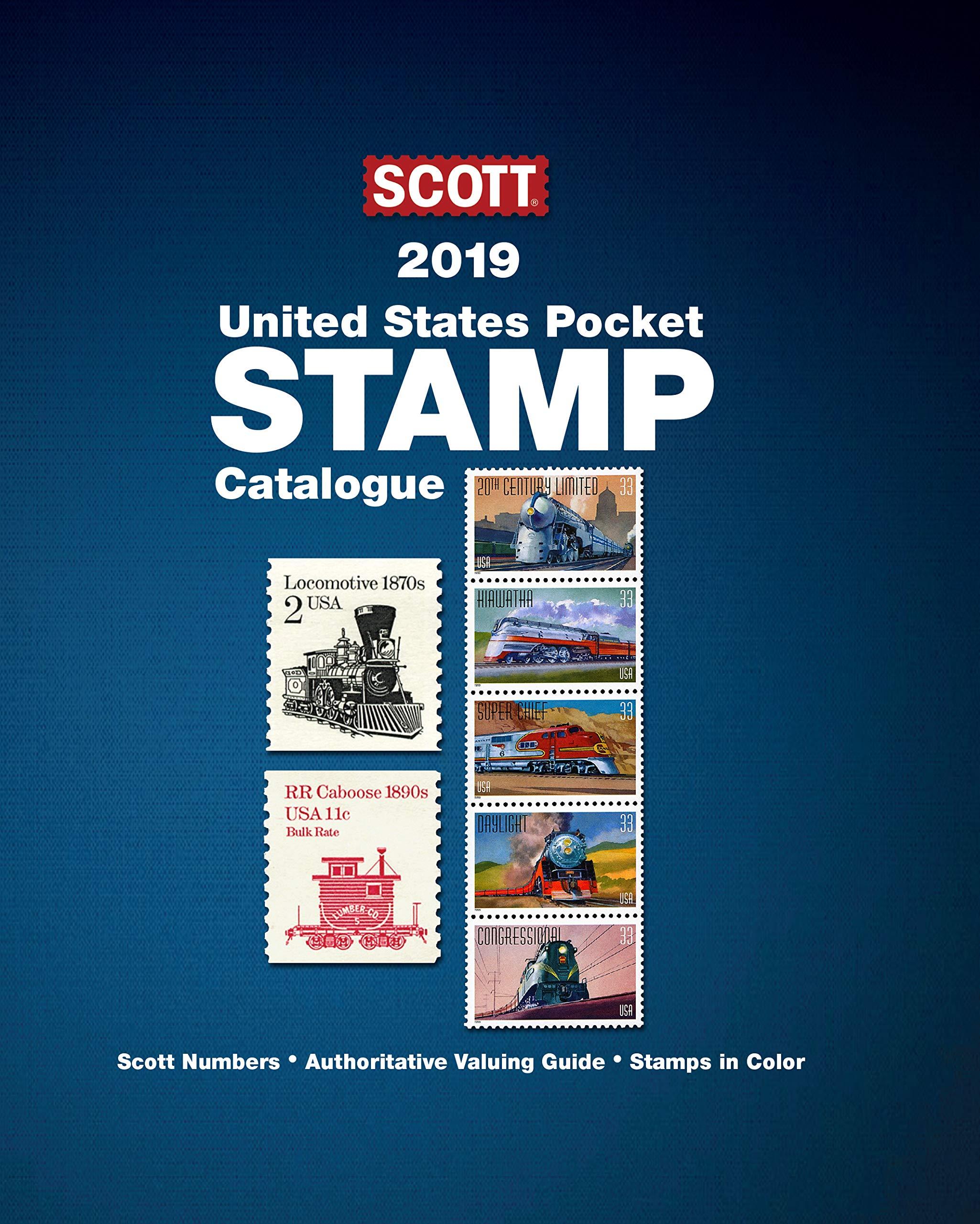 2019 Scott United States Pocket Stamp Catalogue (Scott Catalogues) by Amos Media Company (Image #1)