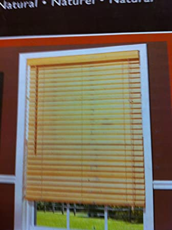 Amazoncom Basic Blindz Allen Roth 2 Bamboo Blinds23 X 64