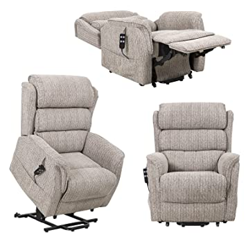 Magnificent Sandringham Dual Motor Riser Recliner Electric Mobility Chair With Waterfall Backrest Machost Co Dining Chair Design Ideas Machostcouk