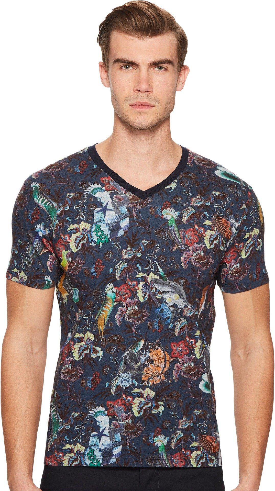 ETRO Men's Blossom T-Shirt Navy X-Large