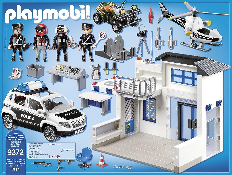 Playmobil 9372 Centrale della Polizia