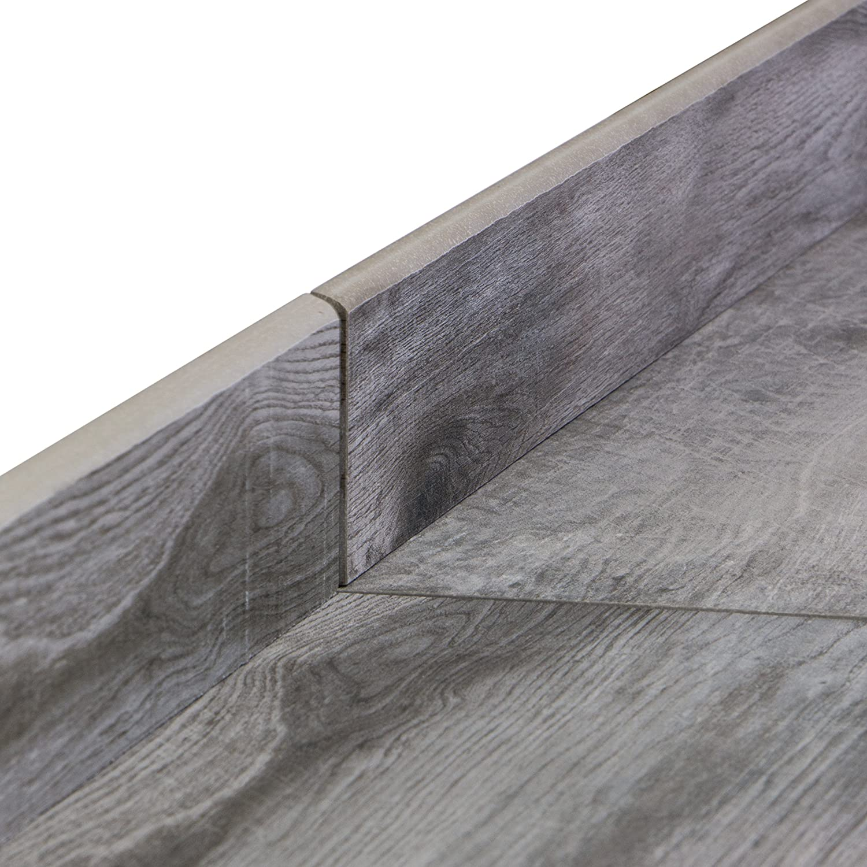 Barriques Palissandro Bodenfliesen 20x80 cm Feinsteinzeug Fliesen in Holzoptik mit Hobelstruktur 1 m/²