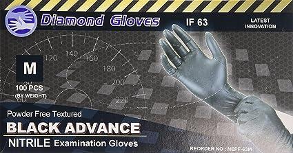 1 Box//100 Gloves Advance Examination Nitrile Powder Free Gloves