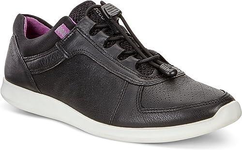 ECCO Damen Sense Sneaker, schwarz: : Schuhe