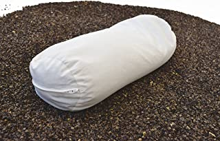 """product image for Bean Products Dust Mite Proof Pillows BUCKWHEAT Fill Neck Roll - 6"""" x 16"""""""