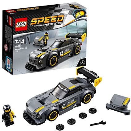 official amazon wholesale dealer 75877 Mercedes AMG GT3 LEGO Speed Champions