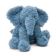 Jellycat Fuddlewuddle Elephant Stuffed Animal, Medium, 9 inches