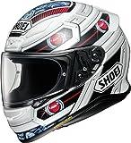 ショウエイ(SHOEI) バイクヘルメット フルフェイス Z-7 TROOPER (トルーパー) TC-10 (RED/WHITE) L (59cm) -