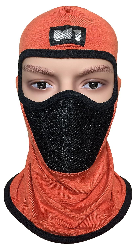 BALA-ORAN-FILT M1 Full Face Cover Balaclava Protecting Filter Face Mask Orange