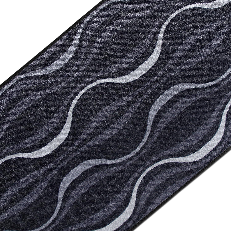 Casa pura Design Teppichläufer mit brillianten Farben   Hochwertige Meterware, gekettelt   Kurzflor Teppich Läufer   Küchenläufer, Flurläufer (80x500 cm)