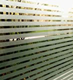 ConCus-T Frosted Window Clings Blinds Pattern