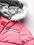 LONDON FOG Girls' Little Snowsuit with Snowbib