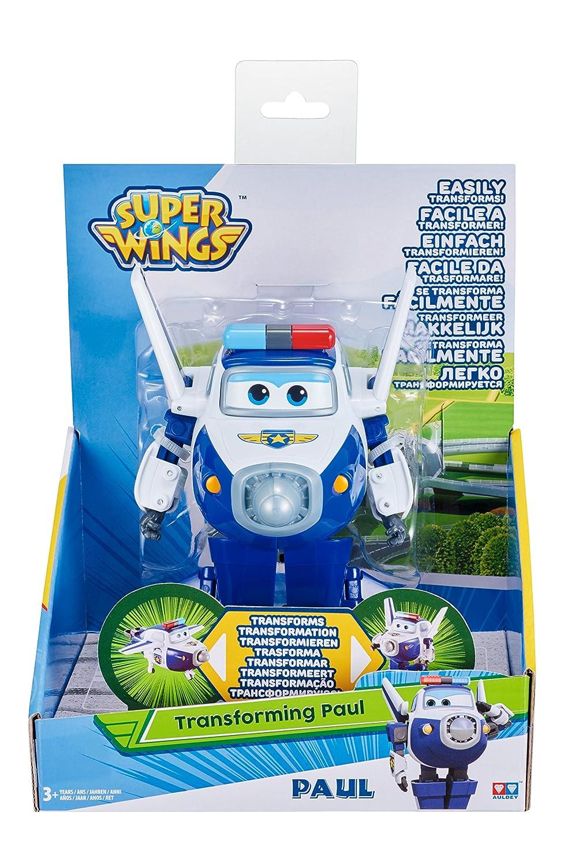 Auldeytoys YW710250 Super Wings Transforming Paul Spielzeugfigur Action- & Spielfiguren