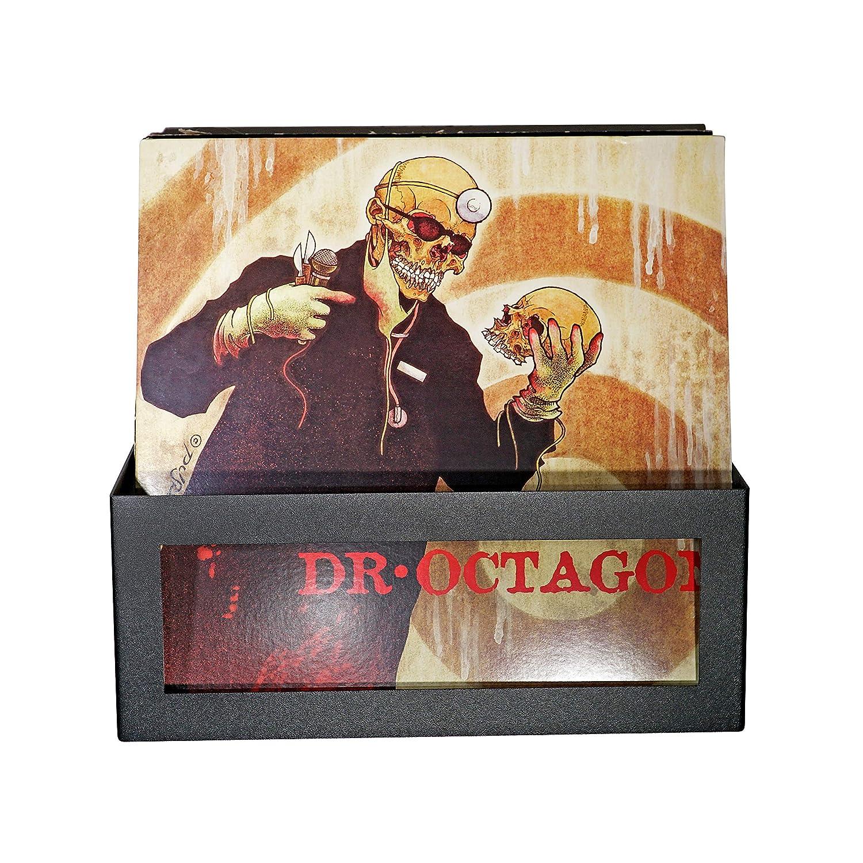 Hudson Hi-Fi Wall Mount Vinyl Record Storage 25-Album Display Holder One Pack Black Satin
