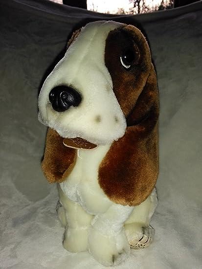 Amazoncom Hush Puppies Basset Hound 10 Plush Dog Toys Games