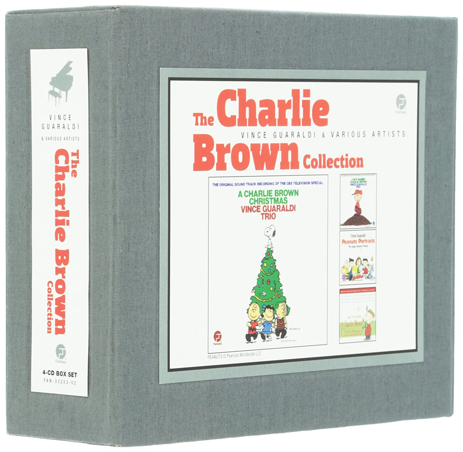 Vince Guaraldi - The Charlie Brown Collection [4 CD Box Set ...