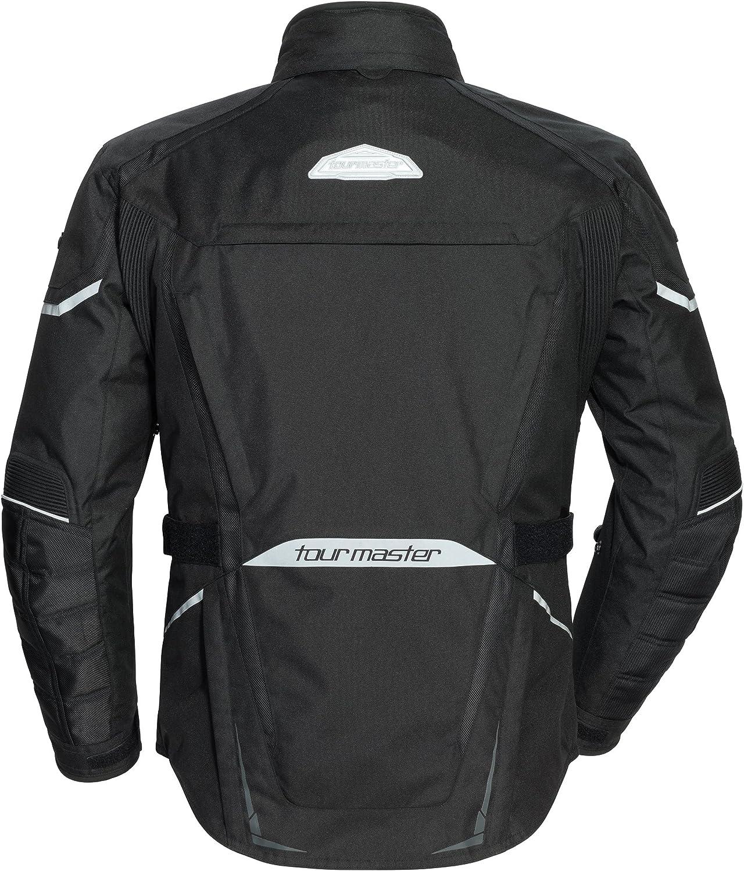 TourMaster Mens Transition Series 5 Jacket Black Tall Medium