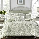 Laura Ashley Home - Natalie Collection - Luxury Ultra Soft Comforter, All Season Premium Bedding Set, Stylish Delicate Design