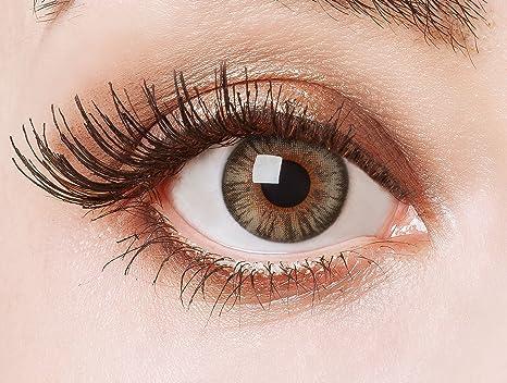 f9dcca3ef4 Lentes de contacto coloreadas Shine bright in grau de Aricona - que cubren  las lentes años para los ojos ...
