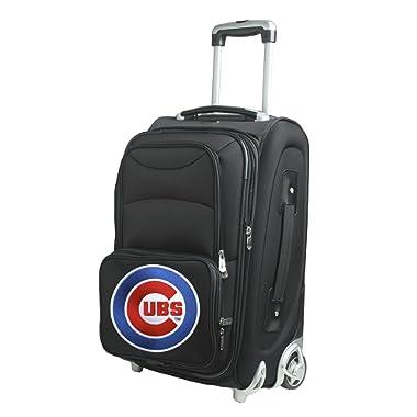 Denco Skate Wheel Carry-On Luggage, 21-Inch, Black