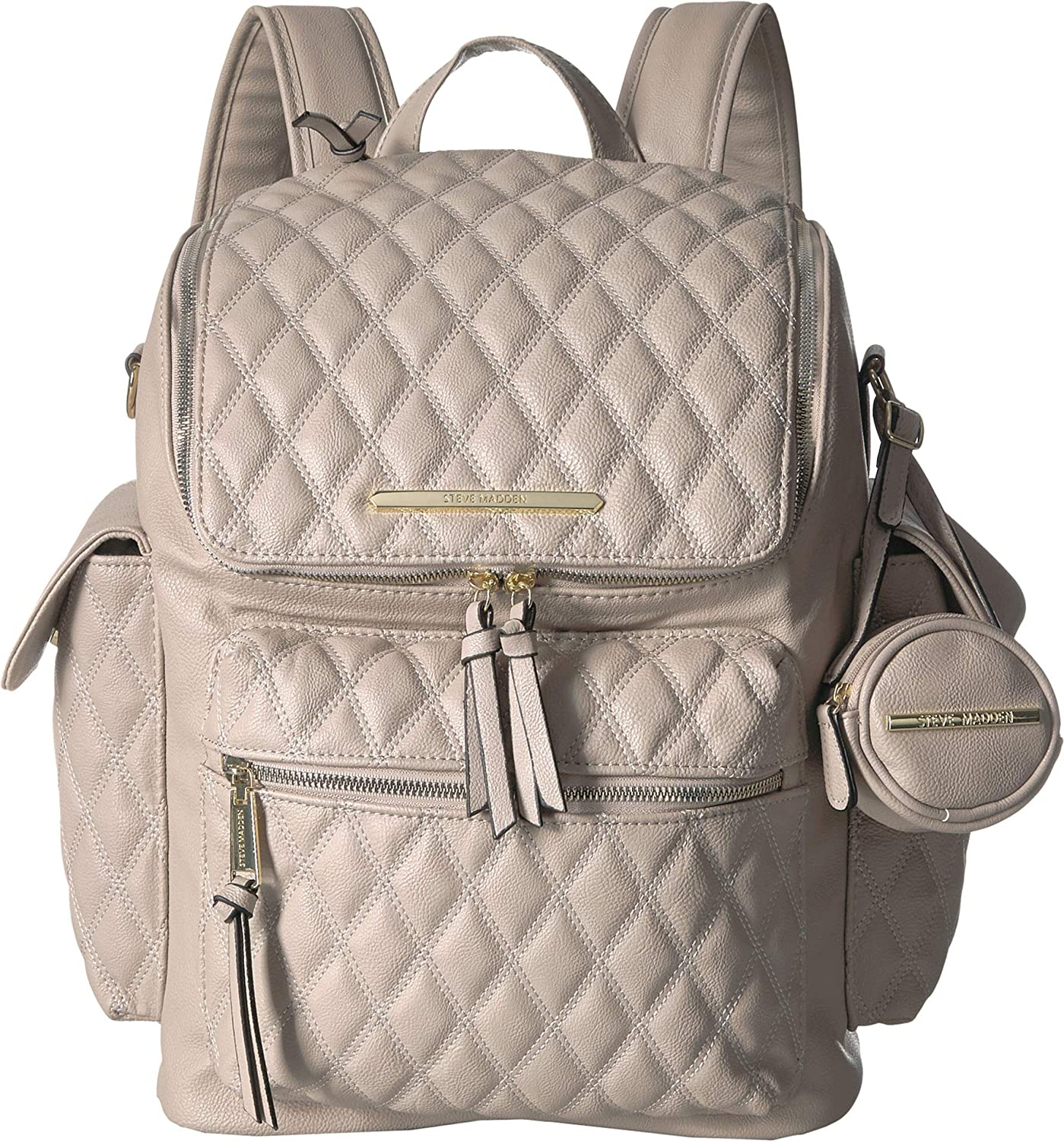 dae7dc924c Amazon.com: Steve Madden Women's Surry Backpack Bisque One Size: Clothing