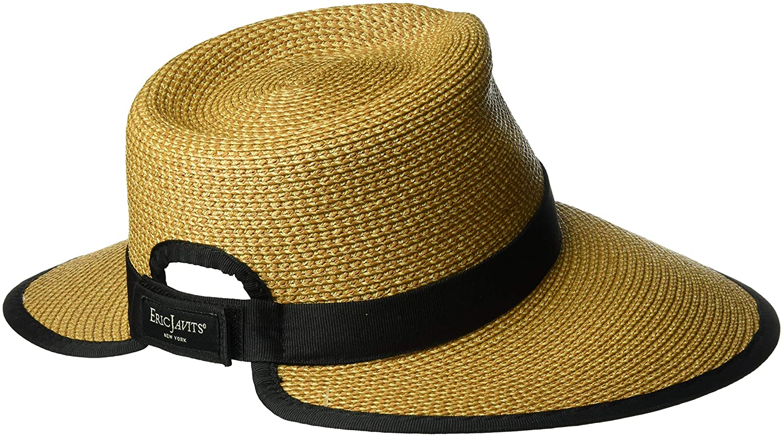 9424cf2daae0c Amazon.com  Eric Javits Women s Sun Crest-Cream Black
