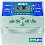 Hunter ELC-401i - Programador de riego, 4 estaciones, para interior
