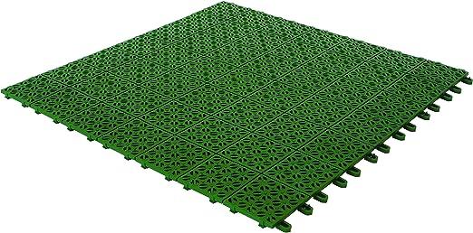 Pavimenti Da Giardino Plastica.Multiplate 03mpve Piastrelle Flessibili Plastica 55 5 X 55 5 Cm Verde Amazon It Giardino E Giardinaggio