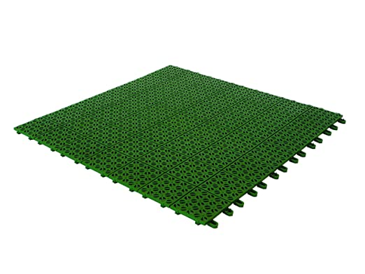 Pavimenti In Plastica Per Giardino Prezzi.Multiplate 03mpve Piastrelle Flessibili Plastica 55 5 X 55 5 Cm