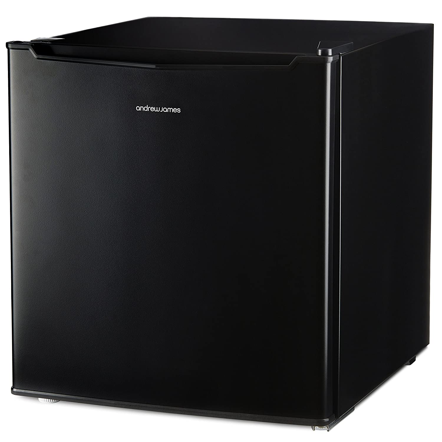 Andrew James Mini Fridge with Freezer Compartment | Compact Refrigerator for Home Bedrooms Offices Parties or Camping | Mini Bar for Drinks Sandwiches Ice Cream Treats | 46L [Energy Class A+]