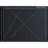 "Dahle Vantage 10672 Self-Healing 5-Layer Cutting Mat Perfect for Crafts and Sewing 18"" x 24"" Black Mat"
