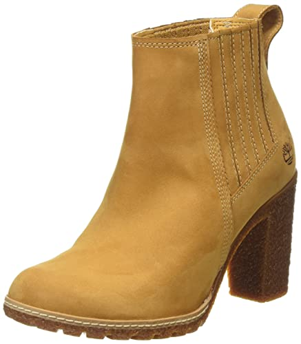 Timberland Women\u0027s Glancy Ankle Boots, Brown (Wheat), 4 UK 37 EU