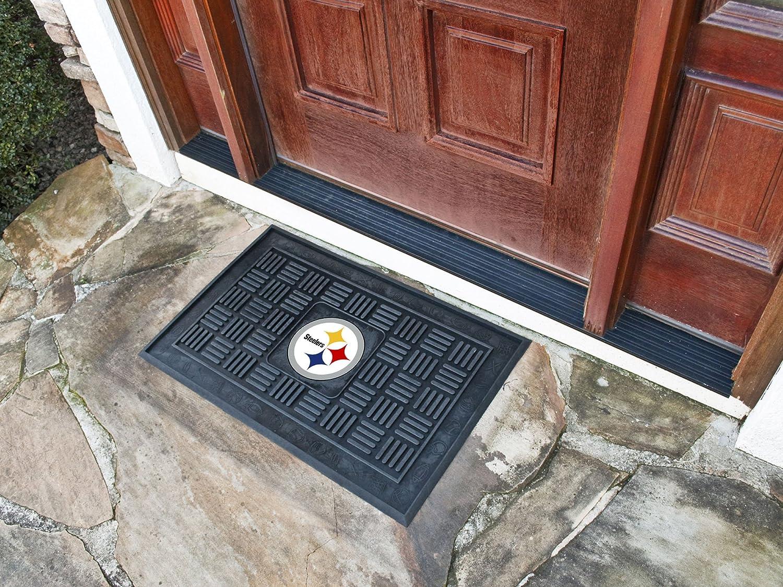 FANMATS NFL Pittsburgh Steelers Vinyl Door Mat