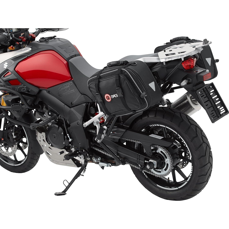 Conjunto de bolsas para moto QBag 01, desmontables, 30-46 litros de capacidad: Amazon.es: Coche y moto
