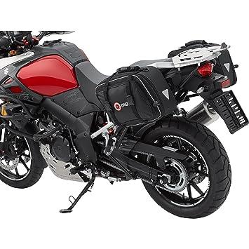 Conjunto de bolsas para moto QBag 01, desmontables, 30-46 litros de capacidad