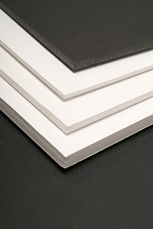 CLAIREFONTAINE Lot 5 Feuilles carton mousse 5mm A3 Noir