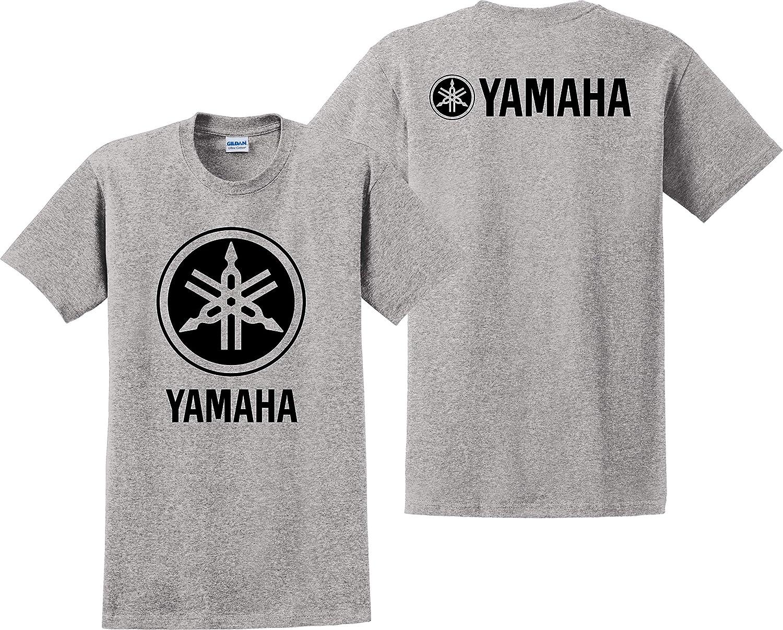 Yamaha T Shirt Racing Ninja Bikes JDM ATV R1 Unisex Tee Shirts Grey