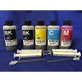 500ml Bulk Ink refill set for Brother LC101 LC103 LC105 LC107 For refillable cartridges or cis ciss ink system + free 4 syringes/ needles