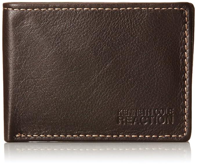 Para estrenar c0567 52272 Kenneth Cole Reaction Men's Leather Front Pocket Billfold Wallet